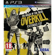 House Of The Dead Overkill Extended Cut (Move Compatible) Game PS3
