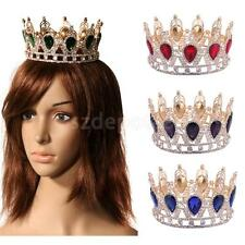 Wedding Birthday Party Baroque Majestic Crown Tiara Queen Princess Hat Supplier