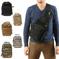 Outdoor Molle Sling Military Shoulder Tactical Backpack Camping Travel Bags DSM