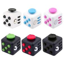 Fidget Toy Cube Dice Anxiety Stress Relief Focus Adults Kids Attention Therapy