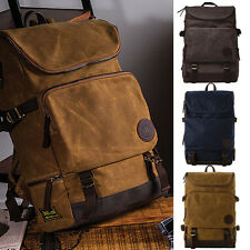 Builford Basic Backpack / waxed canvas bag, Vintage backpack, waxed rucksack