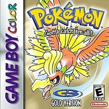 GBC Pokemon Gold Version Nintendo Game Boy Color 2000 NEW BATTERY Tested FreeS&H