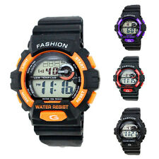 Fashion Men Women Digital Watch LED Analog Quartz Alarm Date Sport Wristwatch
