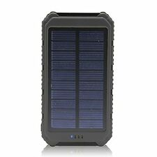 Solar Charger Battery Matone Portable 10000mAh Solar Battery Charger...