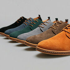 Gift Suede European style leather Shoes Men's oxfords Casual Multi Soft Shoes