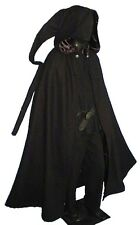 Gothic Medieval Cloak Cape Hood Hooded Cape Virgin Wool New