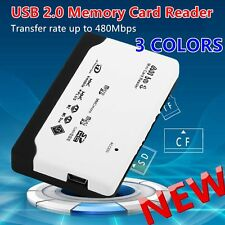 All in 1 USB Card Reader USB 2.0 Memory Card Reader for SD TF CF XD MS Card YY