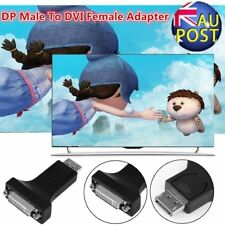 DP Display Port Male to HDMI/ DVI-I 24+5 Female Converter Adapter For Laptop YY