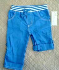 First Impressions Boys' Blue Roll Tab Convertible Pants Shorts Size 6-9M 12M NWT