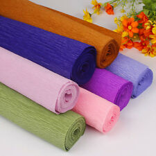 Crepe Rolls Streamer Paper Party Wedding Celebration Birthday Decoration Colours