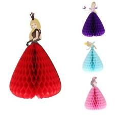 3D Pop Up Princess Honeycomb Greeting Card Favour for Birthday/Bridal Shower