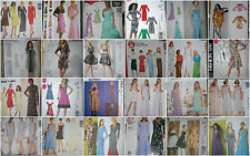 Dress grp #2 Choose a PATTERN sz 4-22 Fancy Formals Casual EASY Plus siz designr