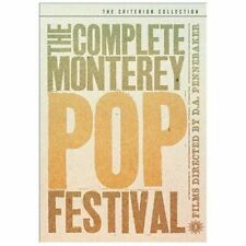 The Complete Monterey Pop Festival - Criterion Collection, New DVDs