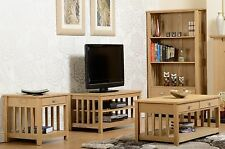 Ashmore Solid Wood Ash Veneer Furniture - Bookcases, Sideboards, Tables, Tv Unit