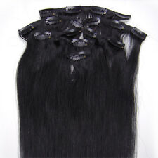 "20"" 70grams Full Head Clip in 100% Indian Premier Remy 5A Human Hair Extensions"