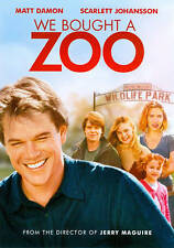 WE BOUGHT A ZOO (DVD) ~ New and Factory Sealed!