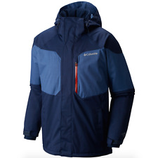 COLUMBIA Mens TALL Sz XLT Alpine Action Hooded Insulated Winter Jacket XL TALL