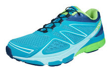 Salomon X Scream 3D Womens Trail Running Sneakers / Shoes - Blue