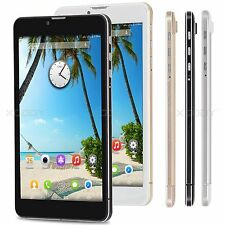 """7"""" Tablet PC Android 4.4 Quad Core 8GB Dual Cam HD Screen 2 SIM 3G Phablet 7inch"""