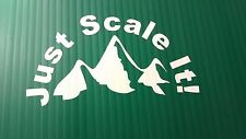 Just scale it!  Vinyl Window Decal Sticker Toolbox RC Rock Crawler Climber 4x4