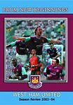West Ham United Fc - Season Review 2003/2004  DVD NEW SEALED FREEPOST