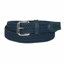 New CTM Kids' Elastic Braided Stretch Belt