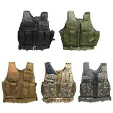 MOLLE Military Tactical Combat Assault Vest for Special Forces Swat Hunting