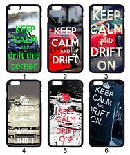 KEEP CALM AND DRIFT ON Car INITIAL D For Apple iPhone iPod & Samsung Galaxy Case
