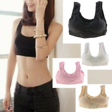 Best Sexy Cozy Seamless Sports Leisure Boob Tube Top Bra Support Vest Nude Yoga