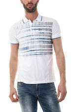 Hugo Boss Polo Shirt Sz. L Man Whites 50309874-100 PUT OFFER