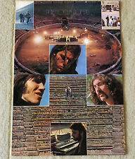 Pink Floyd poster Live In Pompeii '72 filming Poster RaRe