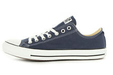 Converse Chuck Taylor OX Navy Blue White Youth Boy Gir Kids Shoes Size 10.5-3