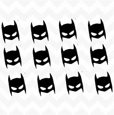 Batman mask vinyl wall stickers accent decals deco removable room toys doors