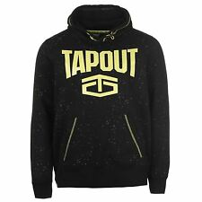 TAPOUT Pull Over Hoody Xtreme Sweatshirt Sweater BLACK Hooded Jacket UFC Couture
