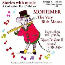 Mortimer the Very Rich Mouse 1999 by Devore, Dixon New Sealed CD KIDS Children