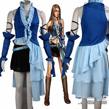 NEW Custom-made Final Fantasy Xii Yuna Lenne Song Cosplay Costume A.704