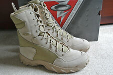 "NEW Oakley SI ASSAULT BOOT 8"" Men's Size 10 Desert Special Forces Military $185"