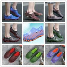 Breathable Men Women Casual Beach Water Light Hole Mesh Walking Shoes Dry Quick