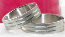 MES OR WOMENS  7MM STAINLESS STEEL  316L WEDDING RING WEDDING BAND STR138