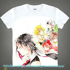 New Anime Akame ga KILL! Cool Shirt Unisex Short Sleeve T-Shirt Tops Clothing #9