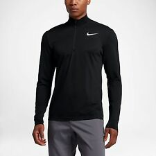NWT Nike Golf Dry Knit 1/2 Zip Long Sleeve Top Sz M (833280 010) RETAIL $120