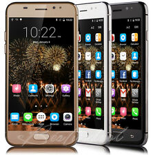 """Unlocked 5"""" Touch Quad Core Mobile Cell Phone Dual SIM GPS Android Smartphone 3G"""