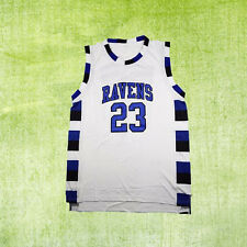 Nathan Scott 23# One Tree Hill Ravens Basketball Jersey White Men