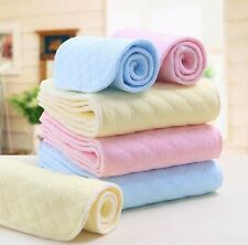 10 pcs new baby cloth diaper nappy inserts liners 3 layers 4 colors