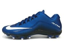NIKE ALPHA PRO 2 FOOTBALL CLEATS   BLUE & WHITE-BRAND NEW-ALL SIZES-RETAIL $100