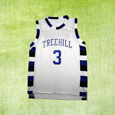 One Tree Hill Lucas Scott 3# Ravens Basketball Jersey White Men