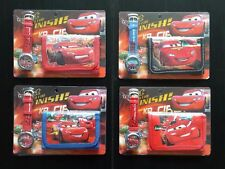 NEW  Cars  Mcqueen Childrens Wallet & Watch Gift Set. Kids Party Gift UK Seller