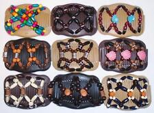 Double Magic Hair Combs, Butterfly Clips, Hairgrips, Slides, Beaded, Quality S83