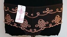 BNWT FRENCH Envies by LEJABY SHORTS in CHOCOLATE & COGNAC COLOR SIZES P/4 OR M/6