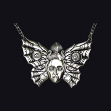 KREEPSVILLE666 BUTTERFLY BRIDE NECKLACE. VAMPIRE. HORROR.
